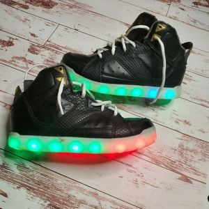 Sketches light up kids sneakers Sz:2